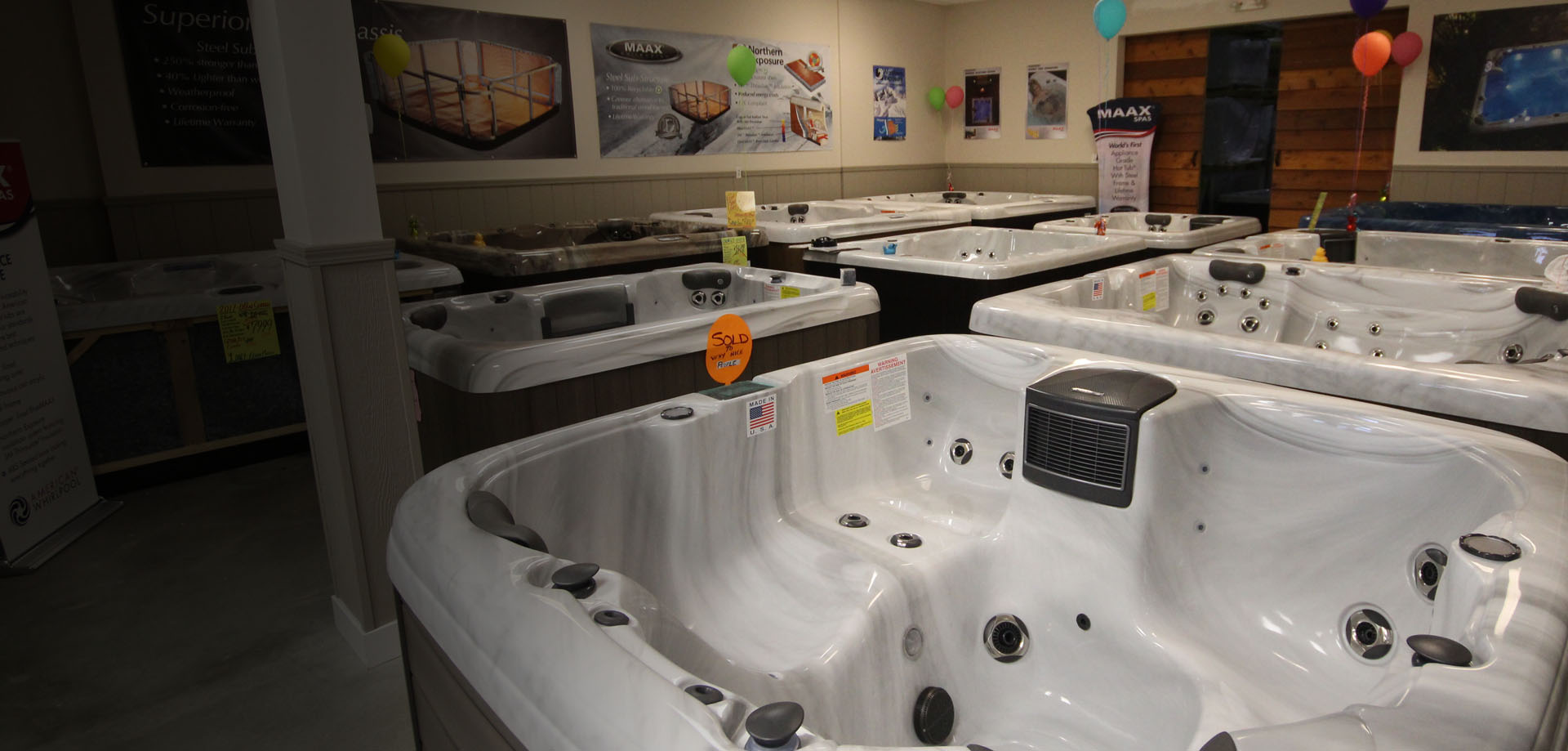Hot Tubs at West Coast Factory Direct Hot Tub